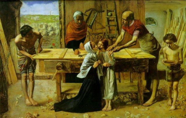 cristo-en-casa-de-sus-padresjohn-everett-millais1850